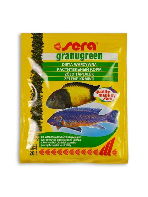 Sera корм для плотоядных цихлид, гранулы 20 гр