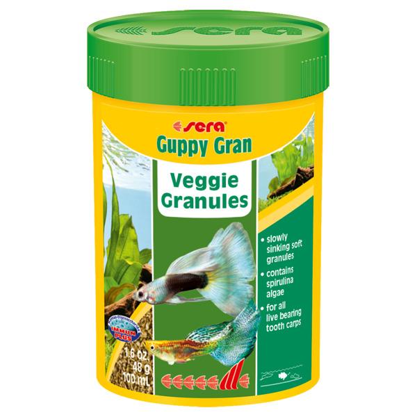 Guppygran 100мл. гранулы дгуппи