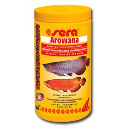 Sera корм для арован и других крупных рыб, плавающие гранулы 360 гр
