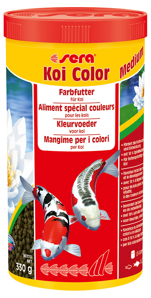 Koi color 1000мл.,4мм.,гранулированный корм двсех кои. 13