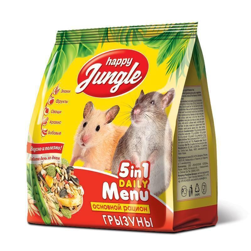 Happy Jungle корм для грызунов, универсальный 350 гр
