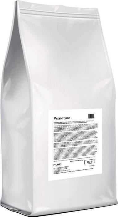 Pronature корм для взрослых кошек всех пород, курица 20 кг