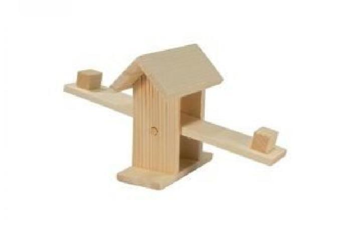 Redplastic Игрушка для грызунов качели 24,5*9*h10 см., RP8515