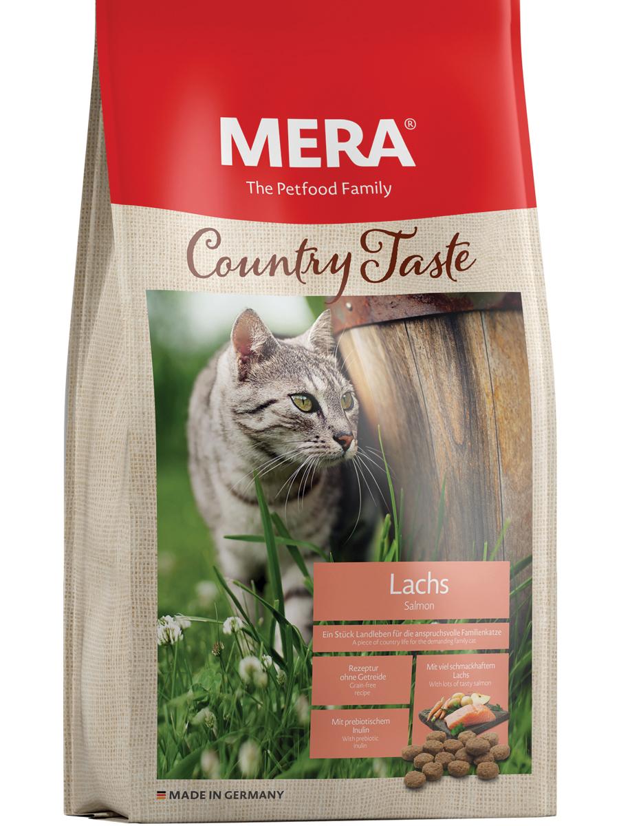 MERA ВИА Беззерновой корм для взрослых кошек (холистик) с лососем (Country Taste Lachs) , 1,500 кг, 38048