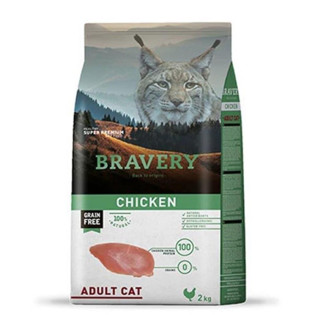 Bravery cat chicken корм для кошек Курица 2кг
