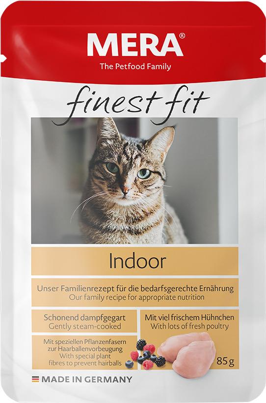 FINEST FIT NASSFUTTER        INDOOR  (пауч для кошек  живущих в помещении)