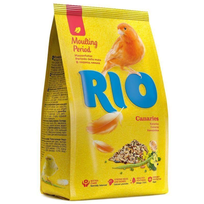 RIO корм дканареек при линьке 500 гр