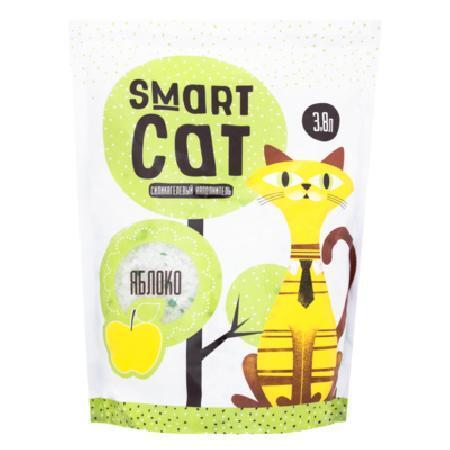 Smart Cat наполнитель Силикагелевый наполнитель с ароматом яблока, 7,6л, 3,320 кг, 24578