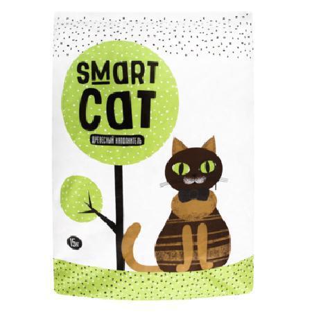Smart Cat наполнитель Древесный наполнитель, пеллета 8мм,  35иб07, 15,000 кг, 25096