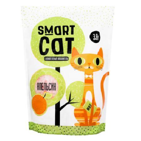 Smart Cat наполнитель Силикагелевый наполнитель с ароматом апельсина, 3,8л, 1,660 кг, 24579