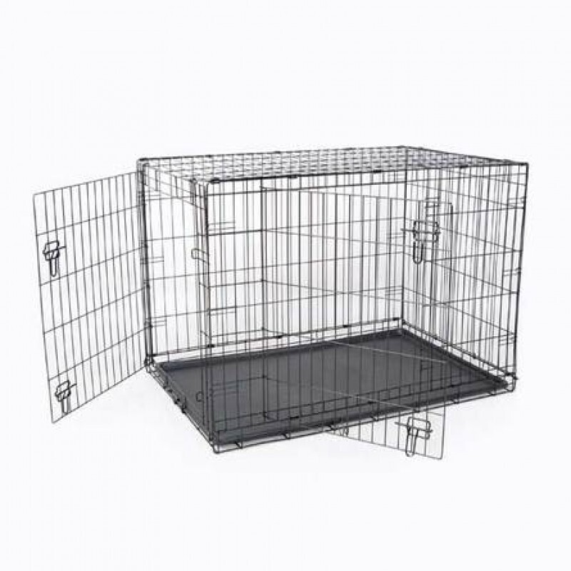 Papillon ВИА Клетка металлическая с 2 дверками, 87*58*67см (Wire cage 2 doors) 150287, 14,000 кг, 15245