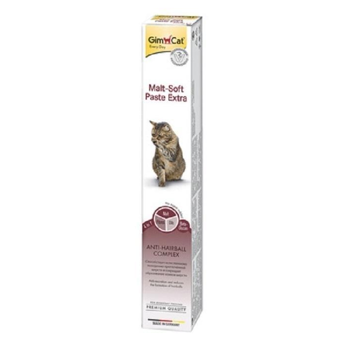 Gimcat Паста Мальт Софт Экстра для выведения шерсти у кошек 417912, 0,030 кг, 51828