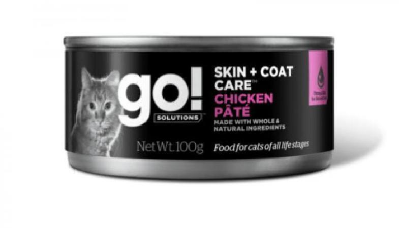 GO! влажный корм для кошек с курицей 100 гр
