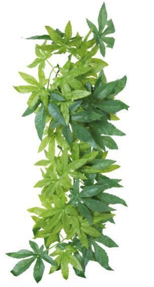 76237 Растение для террариума Abutilon 20*50 см, шелк
