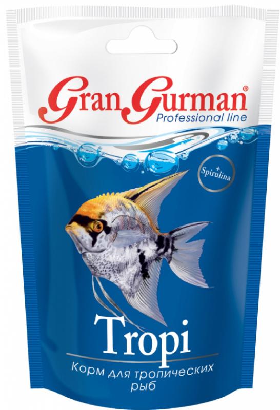корм др ЗООМИР Gran Gurman Tropi - для тропических рыб 30гр 570