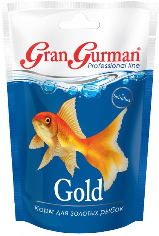 корм др ЗООМИР Gran Gurman Gold - для золотых рыбок 30гр 571