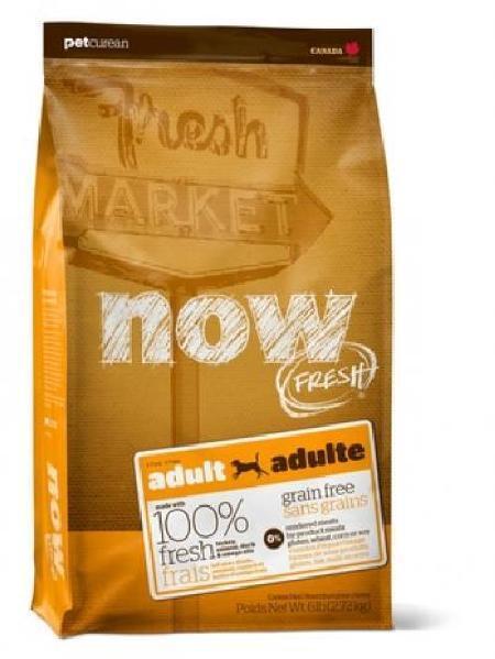 NOW Fresh корм для взрослых собак всех пород, беззерновой, индейка, утка и овощи 2,72 кг
