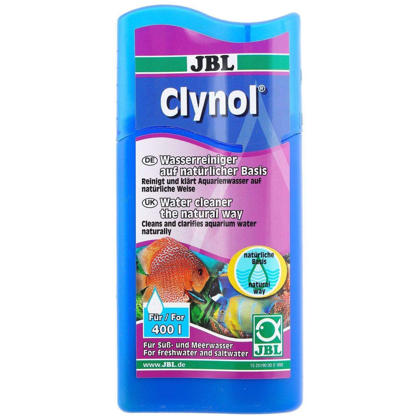 [282.2519000]  JBL Clynol - Кондиционер для очистки пресной и морской акв. воды 100 мл на 400 л