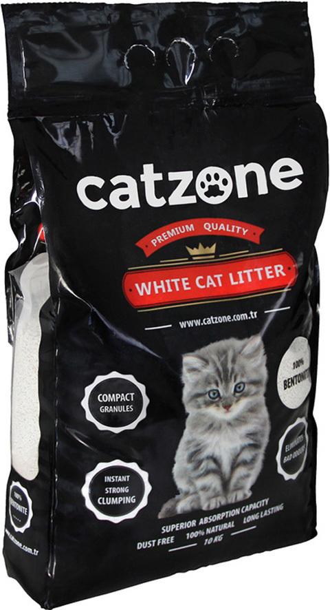Catzone комкующийся наполнитель для кошачьих туалетов, без запаха 5 кг