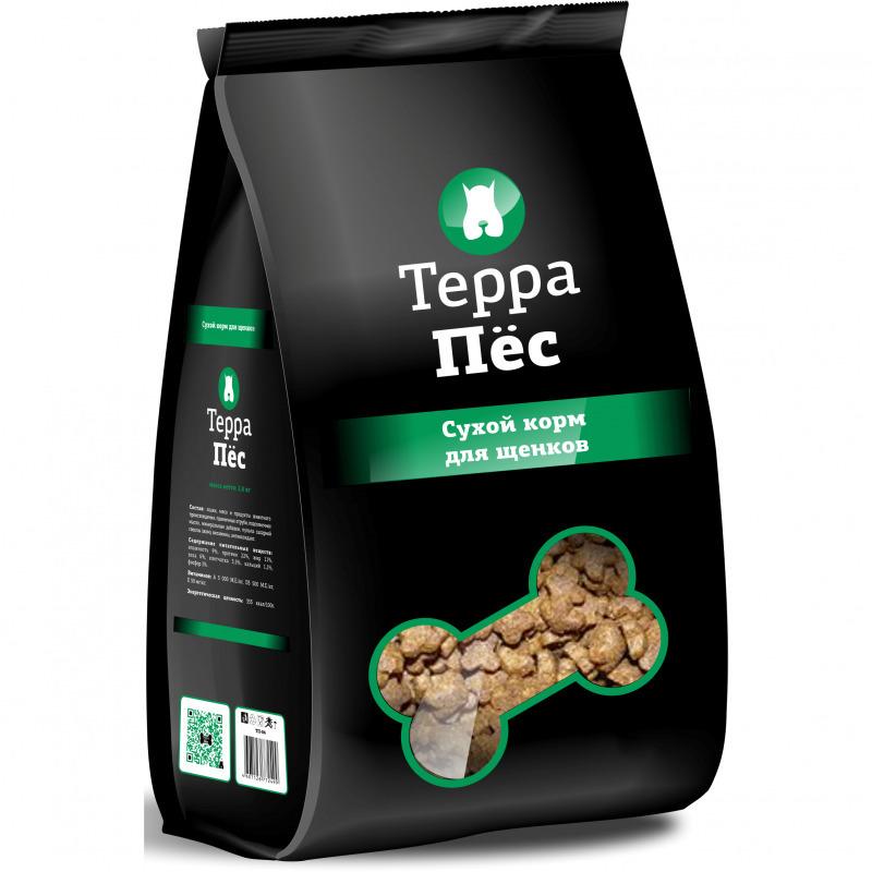 ТерраПес корм для щенков 12 кг