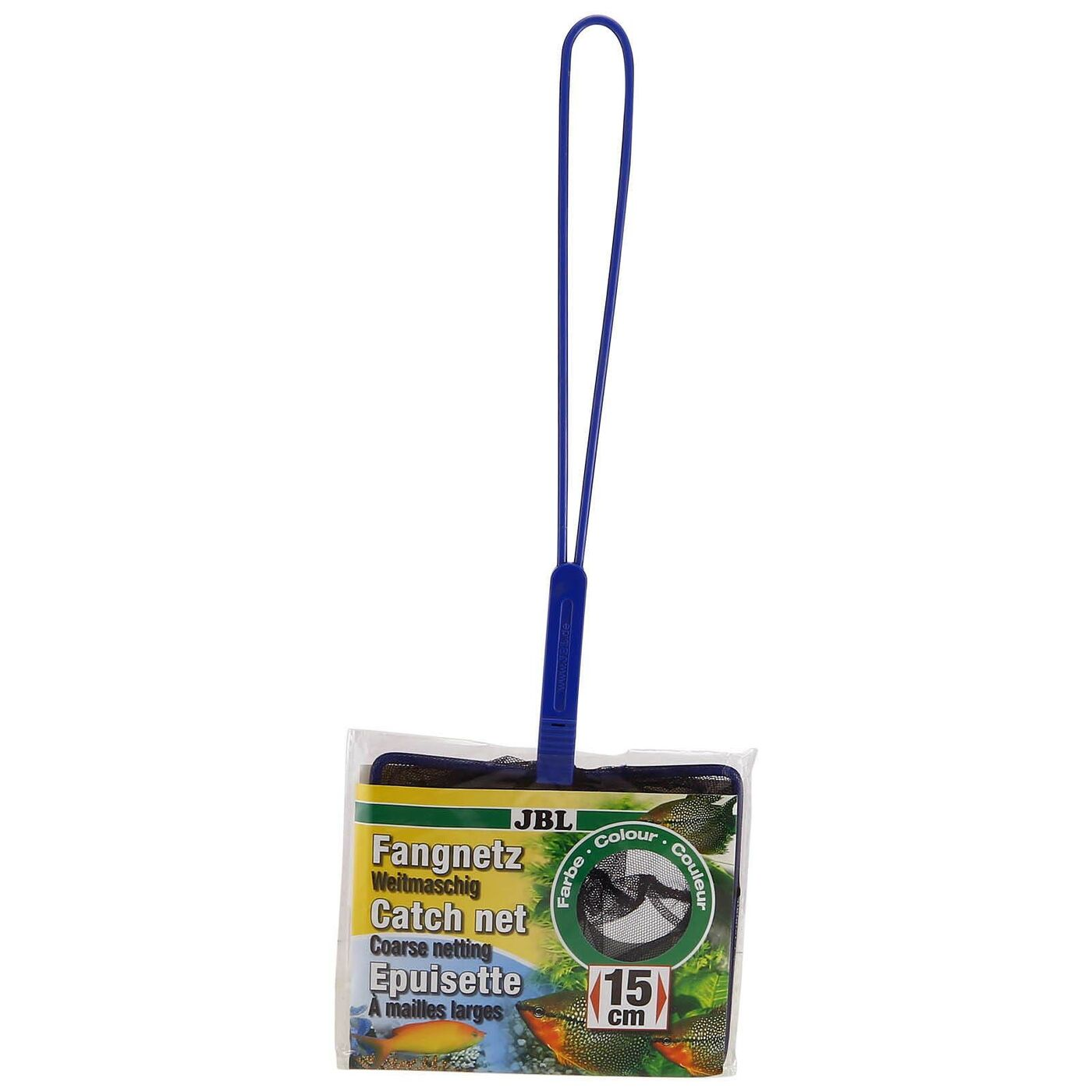 JBL Fish Net PREMIUM coarse - Сачок премиум с крупной сеткой черного цвета, 31х5,5 см