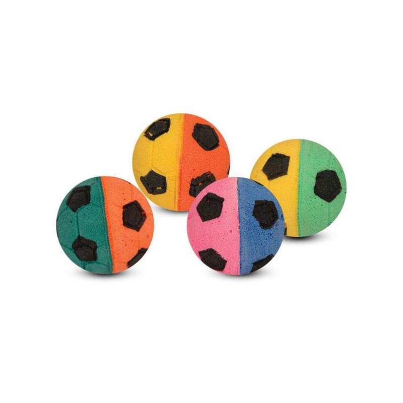 02Т Мяч футбольный двухцветный (туба 60 шт)