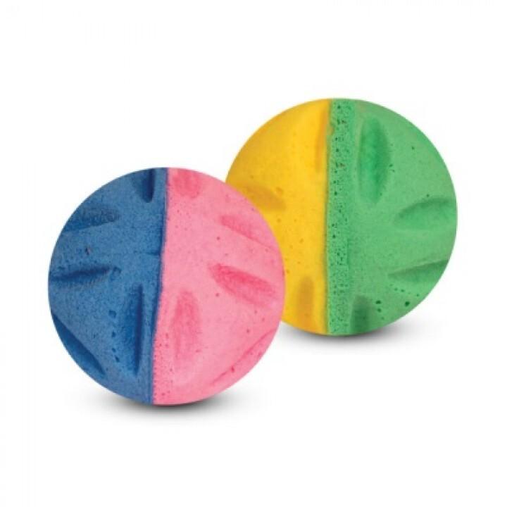 09Т Мяч цветочный  двухцветный (туба 60 шт)