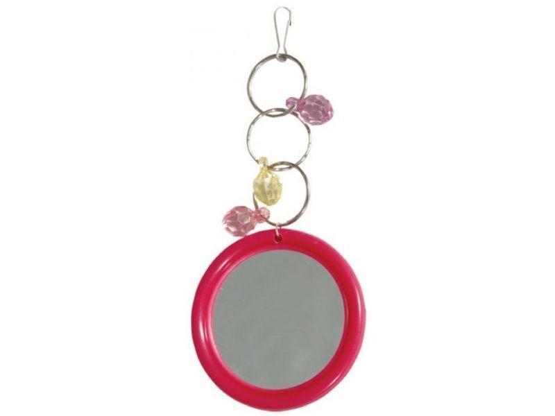 051-КХ Игрушка для птиц Зеркало с украшением