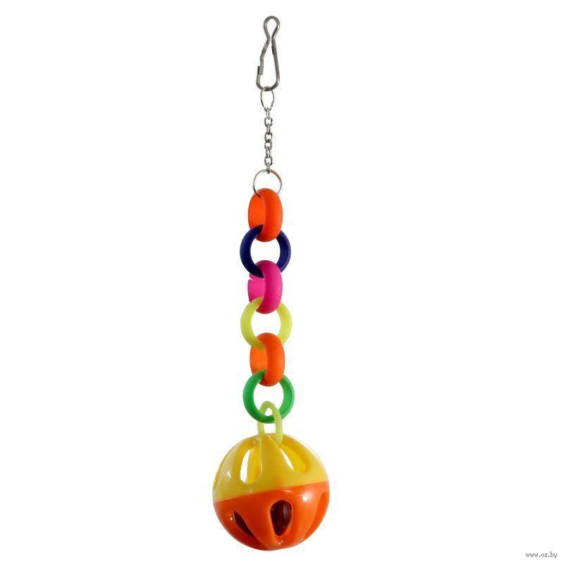 073-КХ Игрушка дптиц Звонкий шарик