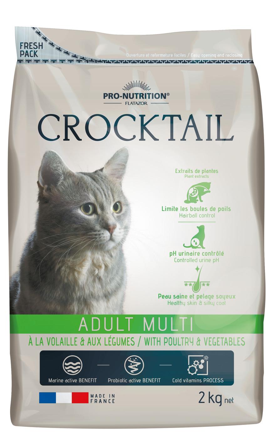 CROCKTAIL ADULT MULTI  (птица+овощи) 2кг х 4