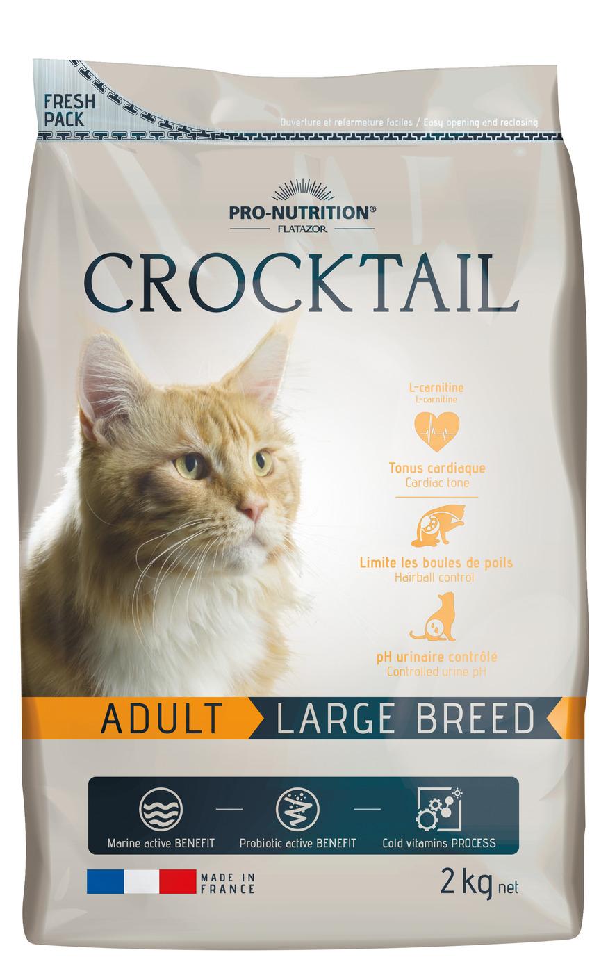 CROCKTAIL ADULT LARGE BREED 2кг х 4