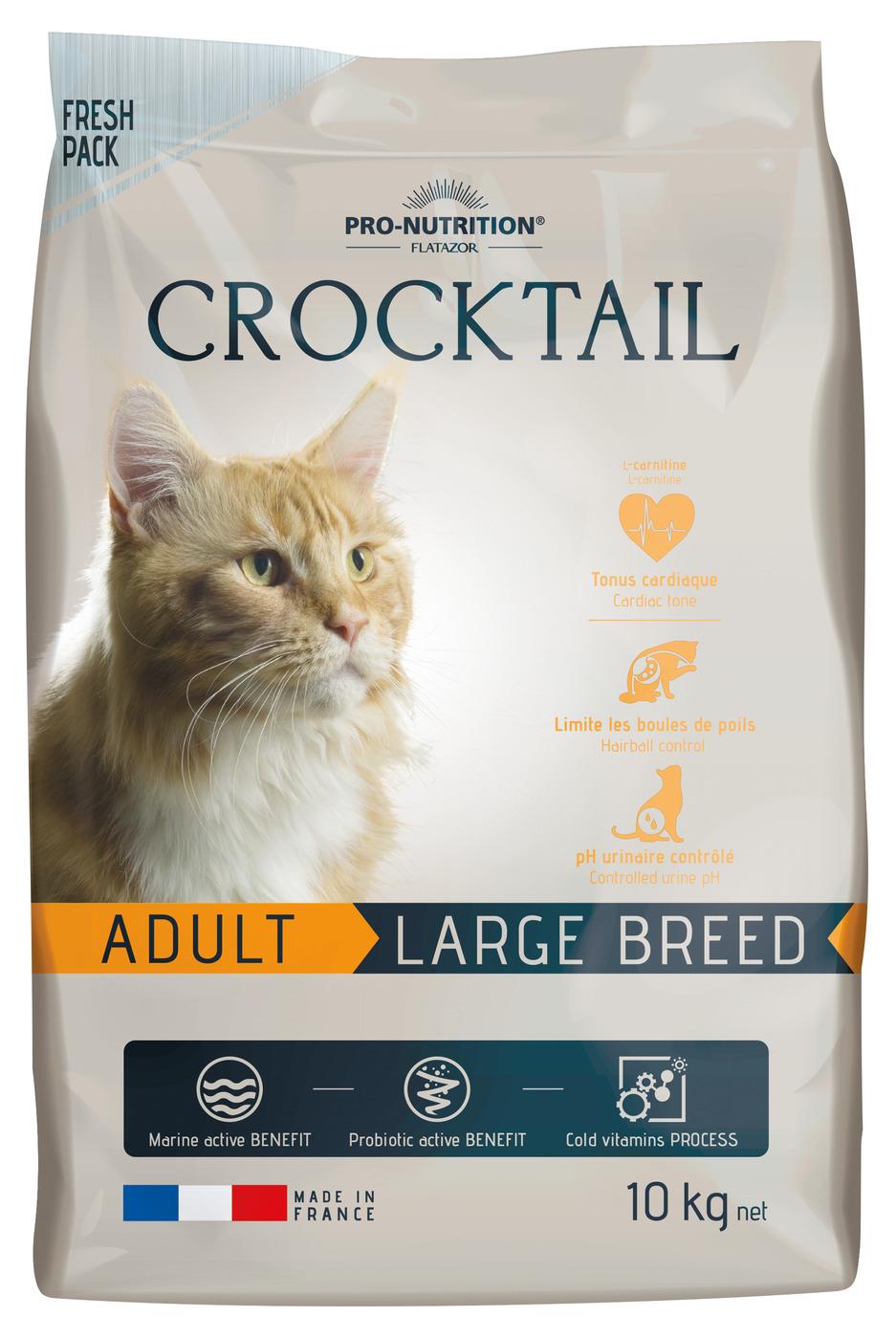 CROCKTAIL ADULT LARGE BREED 10кг х 1
