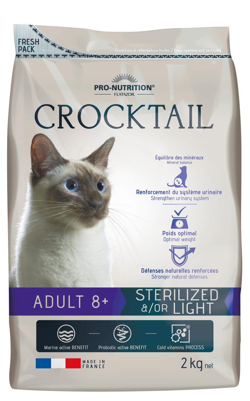 CROCKTAIL ADULT 8+ STERILISE etou LIGHT  2кг х 4
