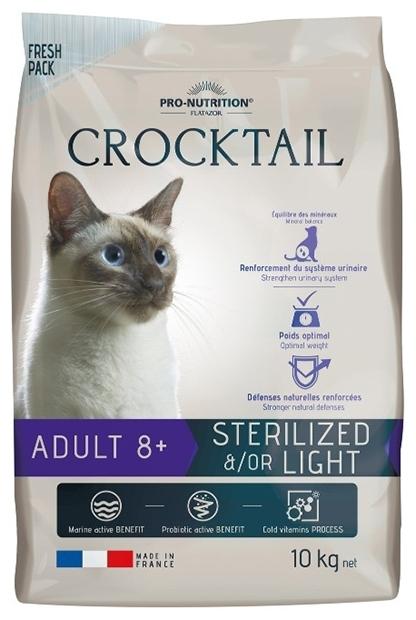 CROCKTAIL ADULT 8+ STERILISE etou LIGHT  10кг х 1