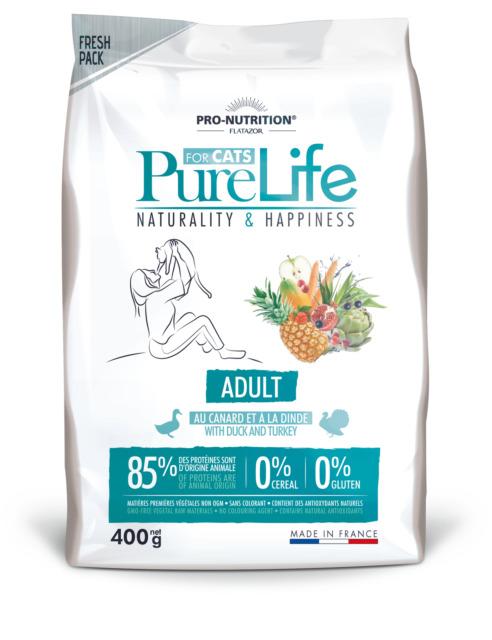 PURE LIFE Adult  0,4кг х 8