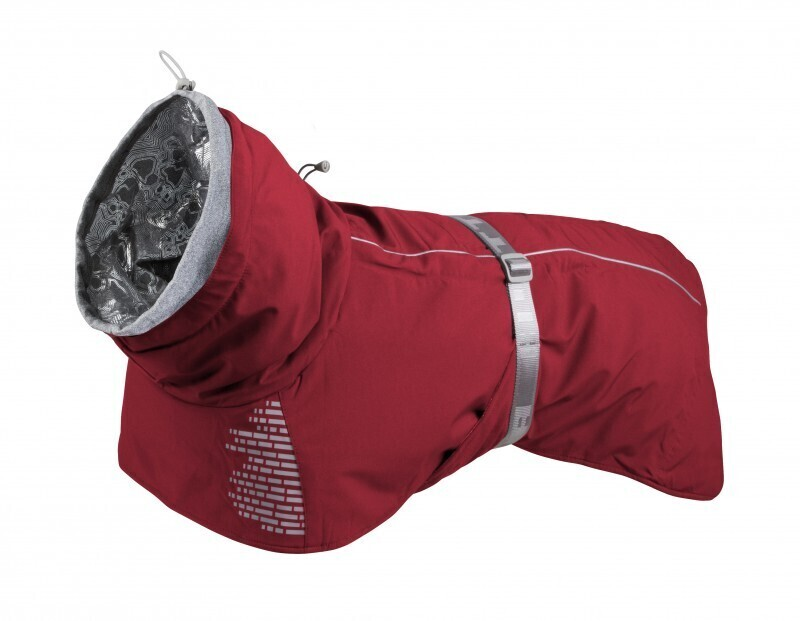 932966 Тёплая куртка-попона Extreme Warmer 40(длина спины 40см),Красный