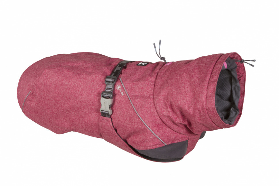 [7099]  933721 Тёплая куртка Hurtta Expedition Parka размер 30(длина спины 30см) Красный, 7099