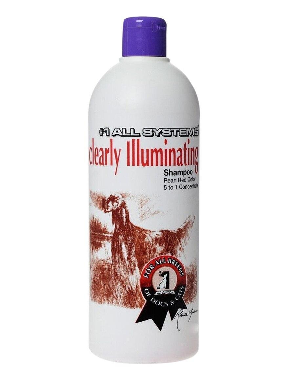 1 All Systems Clearly Illuminating Shampoo суперочищающий шампунь для блеска 500 мл, 09402