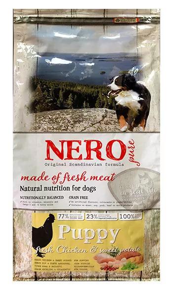 Nero Pure Беззерновой корм для щенков со свежим мясом курицы,  бататом и фруктами (Nero Pure Puppy with Fresh Chicken 2,5kg) 70431809, 2,500 кг, 43182