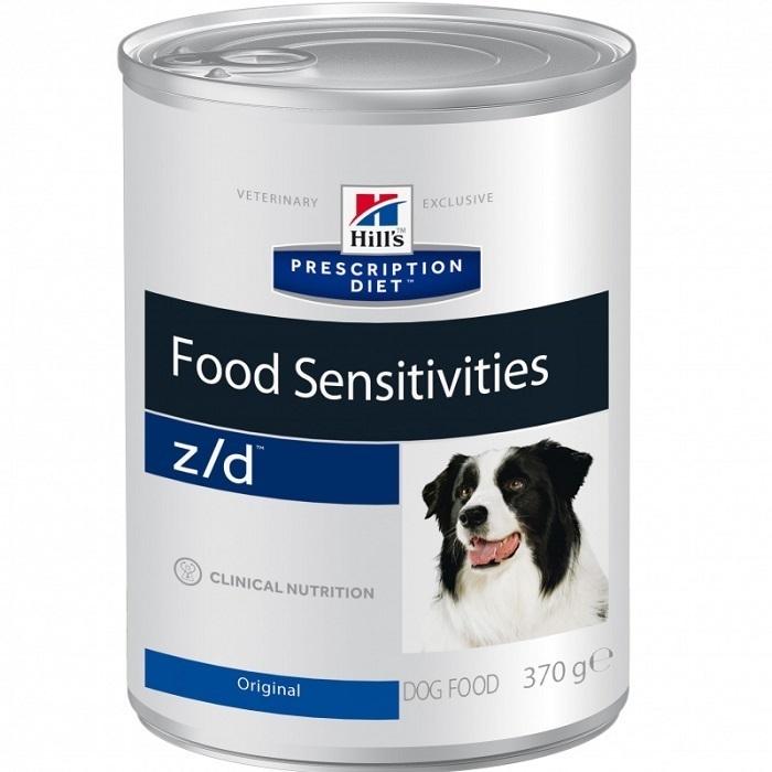 Hills z/d влажный корм для взрослых и пожилых собак всех пород, при пищевой аллергии 370 гр