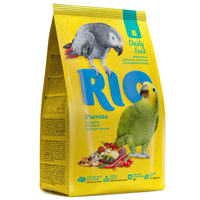 RIO корм дкрупных попугаев 500 гр