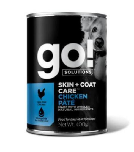 GO! влажный корм для собак с курицей 400 гр