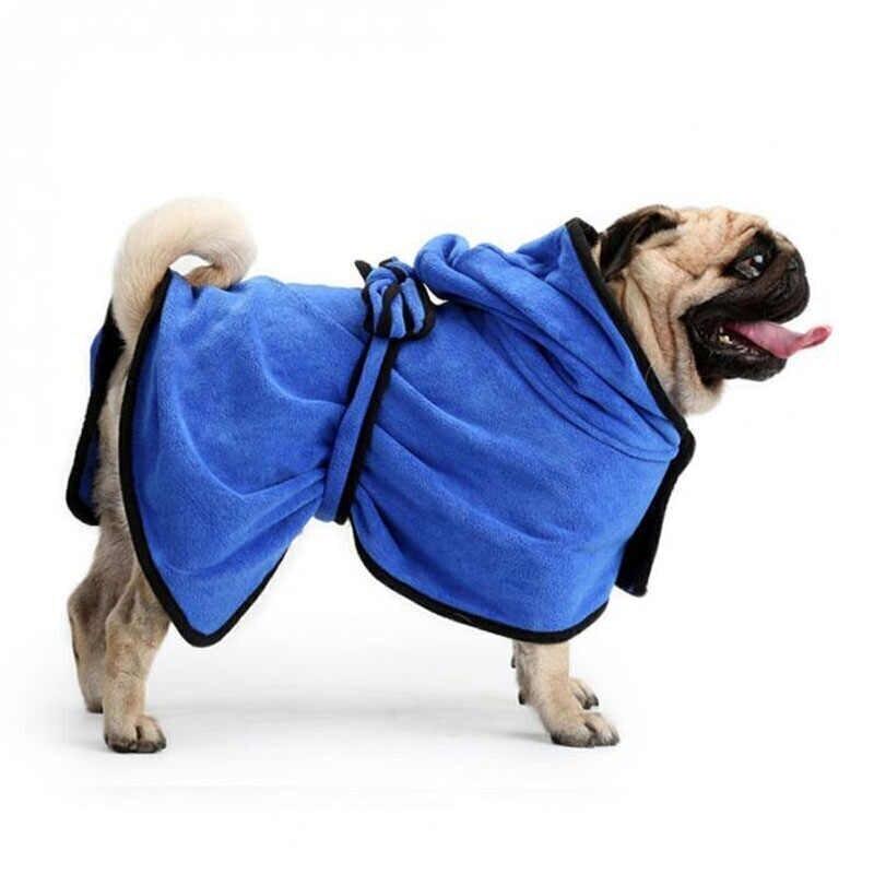 [94.163.321]  Халатик для домашних животных М 60х40 см голубой, 94.163.321