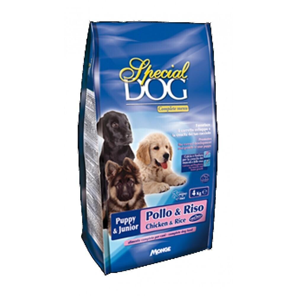 Special Dog корм для щенков курицарис 4 кг
