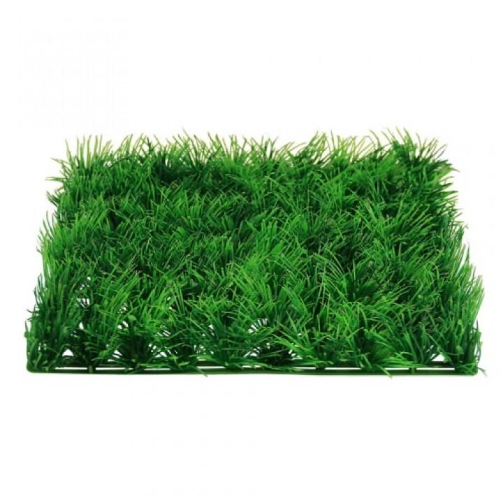 0524 Коврик пласт зелёный 25х25х3  6, 67900100805
