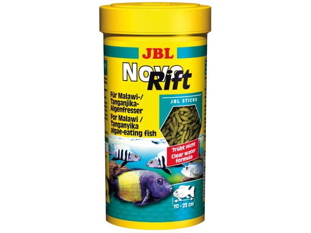JBL Основной корм в форме палочек для растительноядных цихлид, 1 л (530 г)