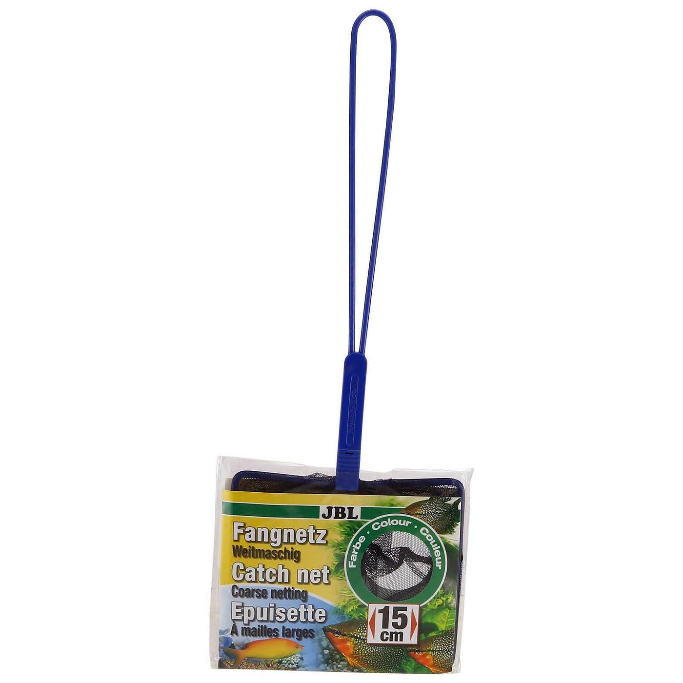JBL Fish Net PREMIUM fine - Сачок премиум с мелкой сеткой черного цвета, 31х5,5 см