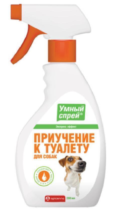 Apicenna Умный Спрей приучение к туалету для собак, 0,200 кг, 40773