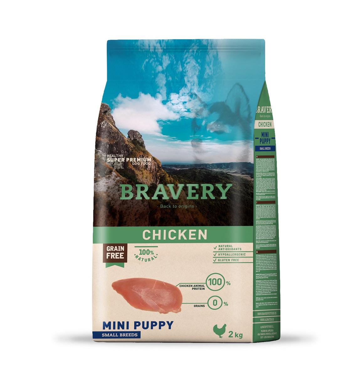 Bravery puppy small breeds корм для щенков Мелких пород 2кг