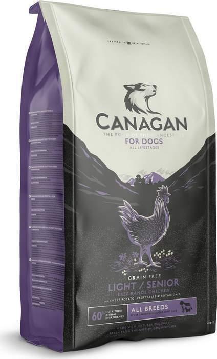 Canagan корм для пожилых стерилизованных кошек всех пород, беззерновой, цыпленок и лосось 4 кг